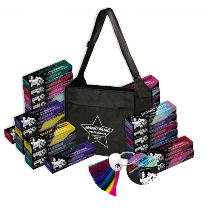 Набор стилиста (36 цветов - 12*3 + сумка + палитра) - Manic Panic Professional