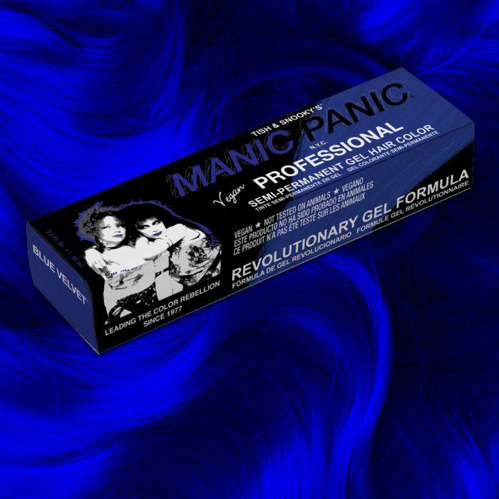 Профессиональная гелевая краска для волос BLUE VELVET - Manic Panic Professional
