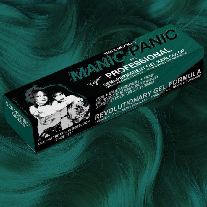 Профессиональная гелевая краска для волос SERPENTINE GREEN - Manic Panic Professional