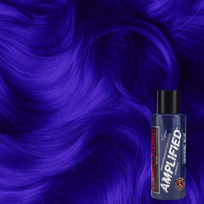 Усиленная голубая краска для волос Shocking Blue