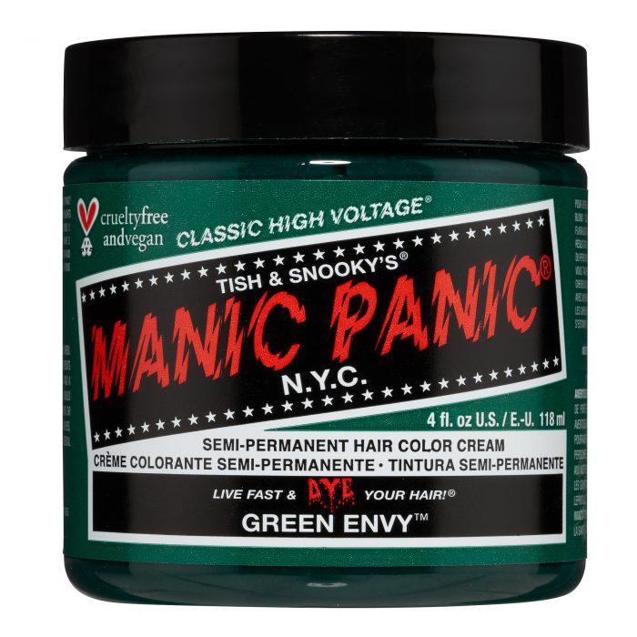 Зеленая краска для волос Green Envy