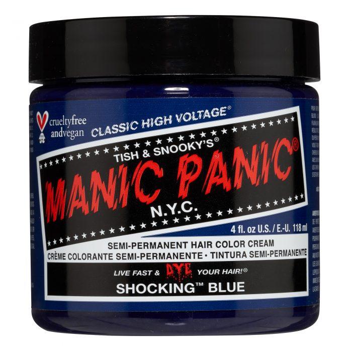 Голубая краска для волос Shocking Blue