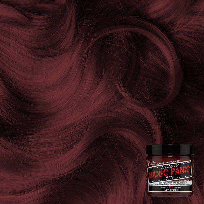 Красная краска для волос Infra Red
