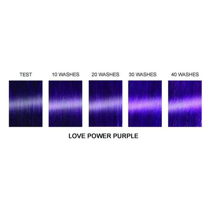 Профессиональная гелевая краска для волос LOVE POWER PURPLE - Manic Panic Professional