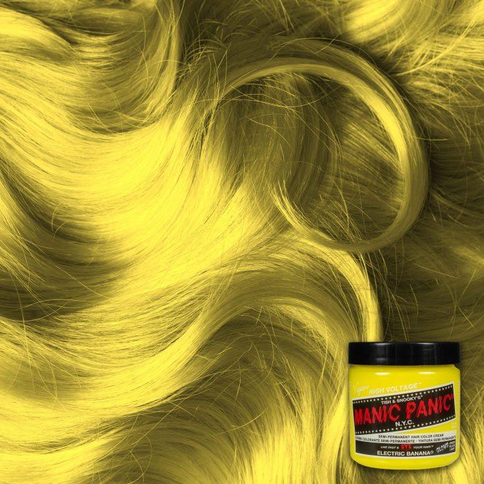Желтая краска для волос Electric Banana