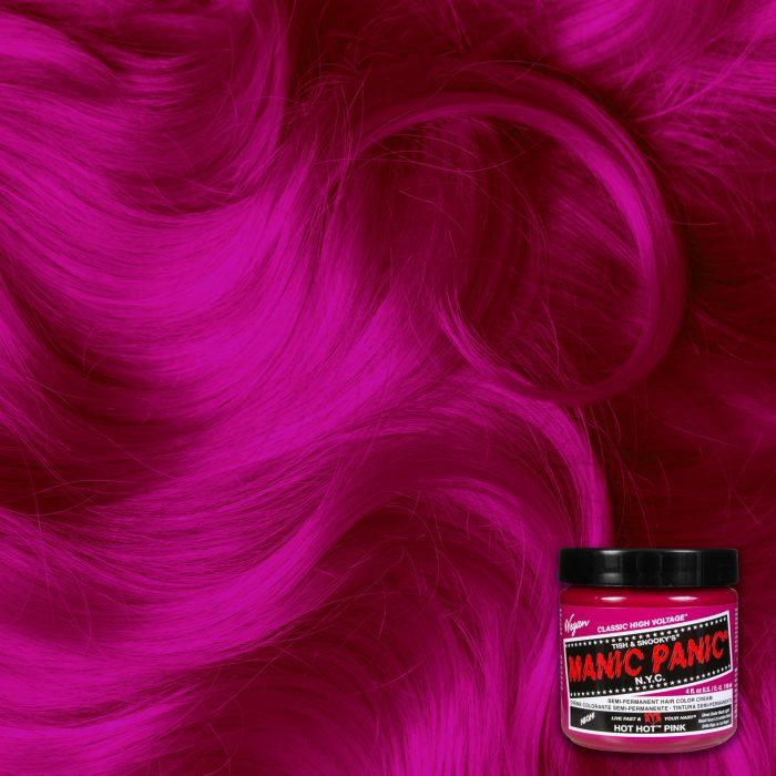 Краска для волос Hot Hot Pink розового цвета