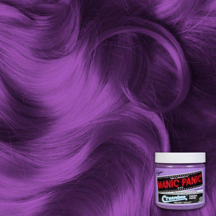 Фиолетовая пастельная краска для волос Velvet Violet
