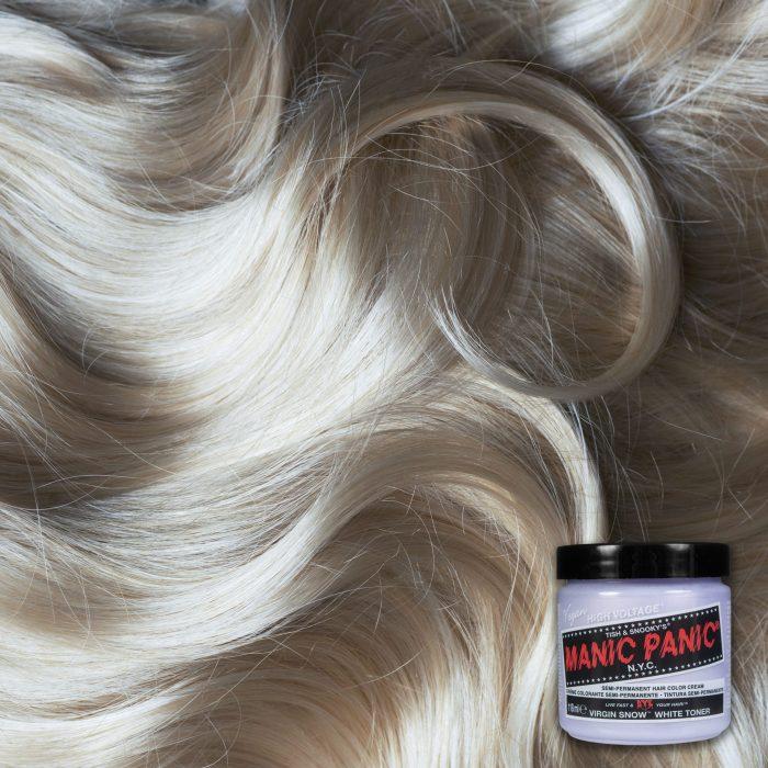 Белая краска для волос Virgin Snow