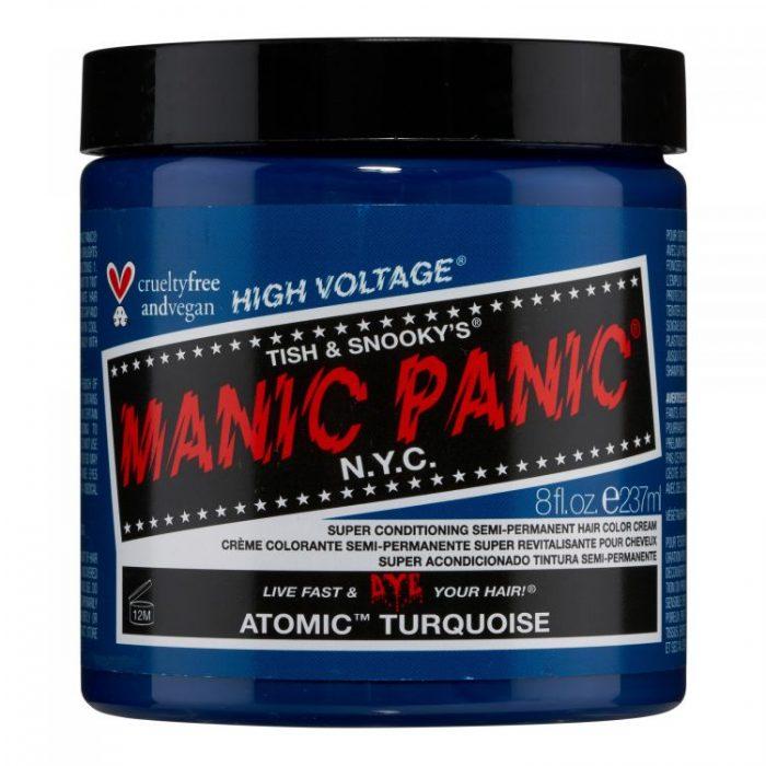 Бирюзовая краска для волос Atomic Turquoise 237 мл (большая банка)